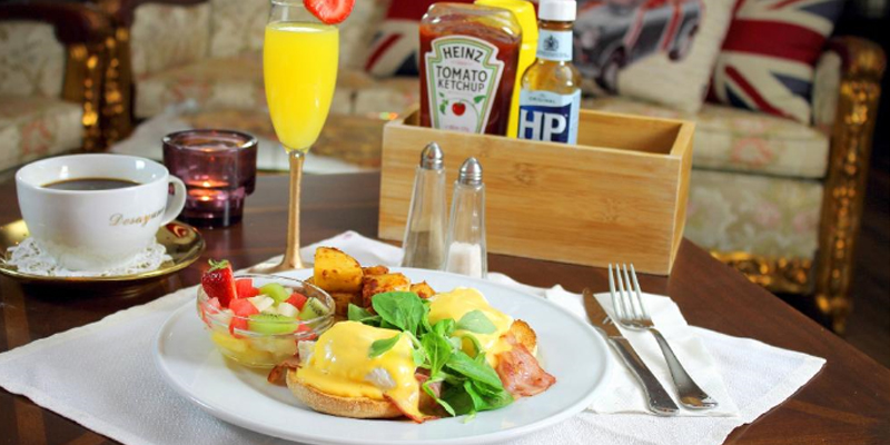 Brunch The Benedict (ES0 Barcelone)