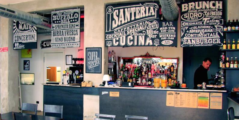 Milano Santeria brunch