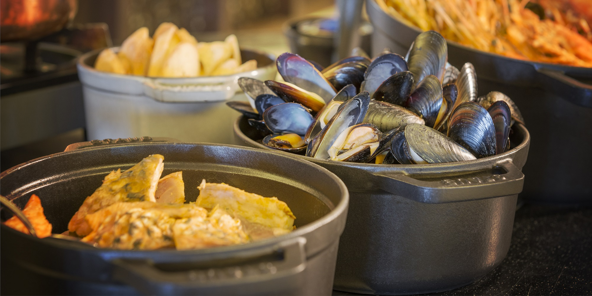Dubai AOC French Brasserie - Sofitel brunch