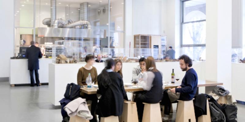 Milano Triennale Design Cafè brunch