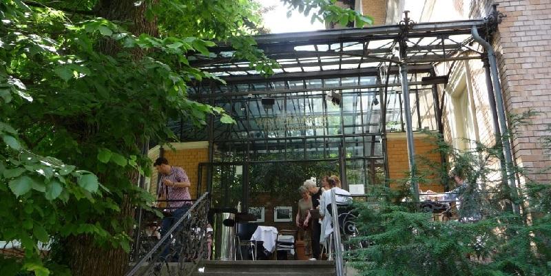 Literaturhaus Cafe Hamburg Brunch