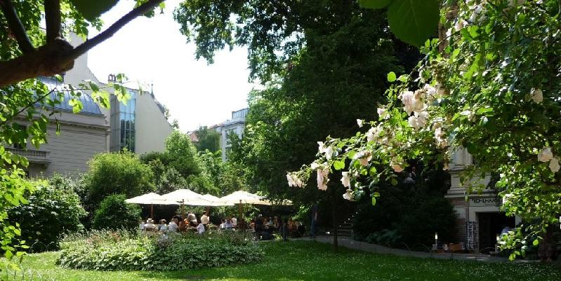 Berlin Café im Literaturhaus brunch