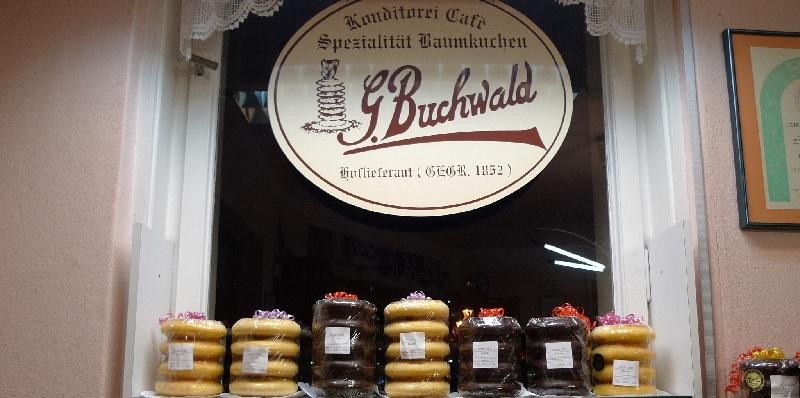 Berlin Konditorei & Café G. Buchwald brunch