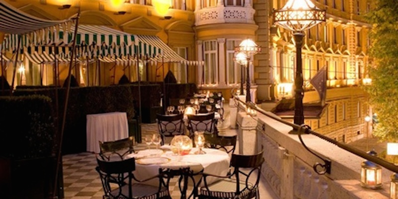Roma Hotel Majestic brunch