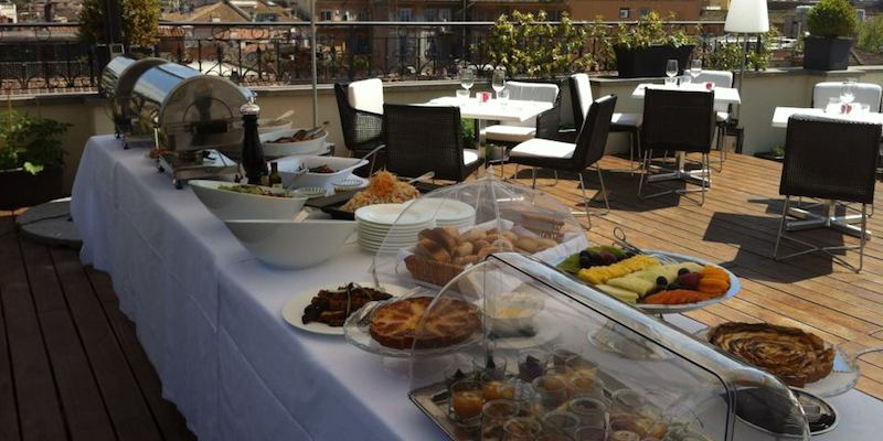Roma All'Oro brunch