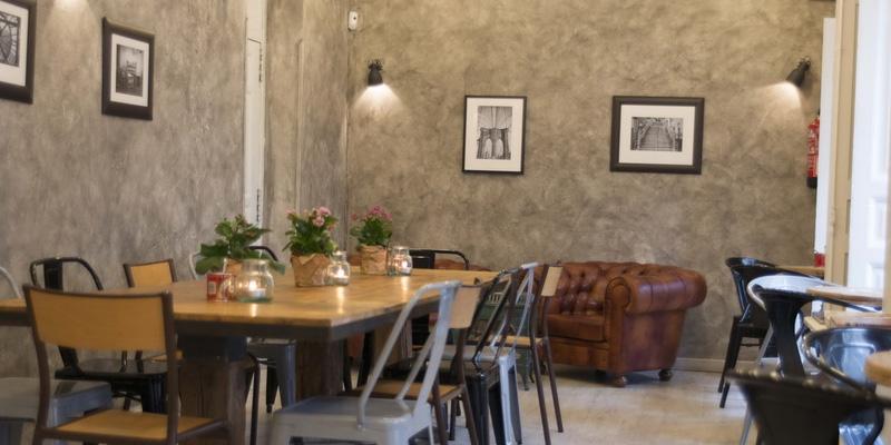 brunch Madrid Mür Café brunch