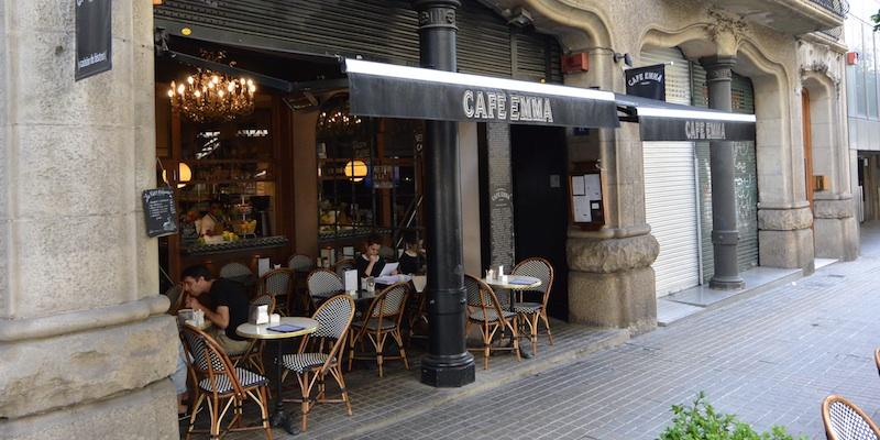 Barcelona Café Emma brunch