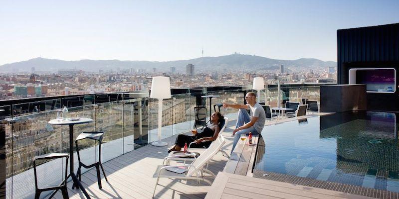 Brunch Hotel Barceló Raval (ES0 Barcelone)
