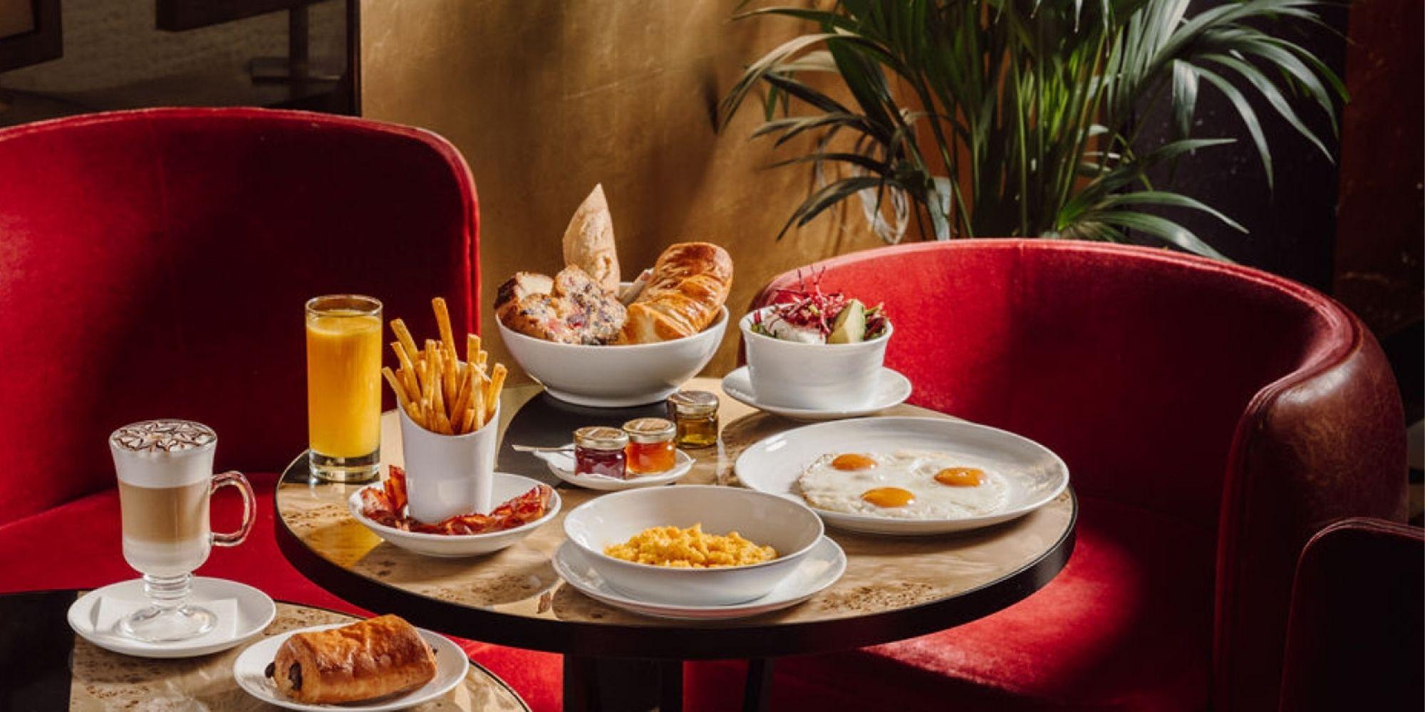 Brunch Cafe Francais Bastille