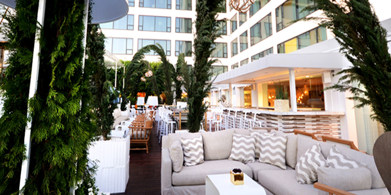 Los Angeles Herringbone - Mondrian Hotel brunch