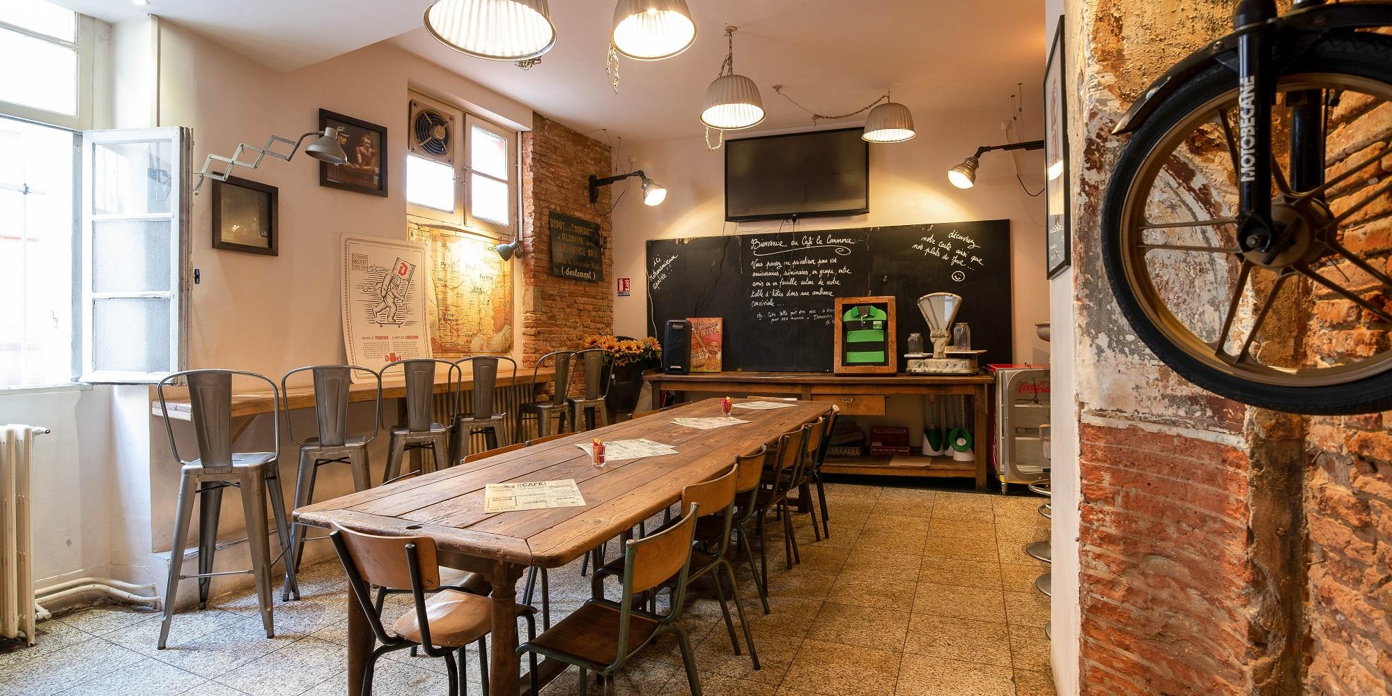 Restaurant A Cote Du Marche De Toulouse