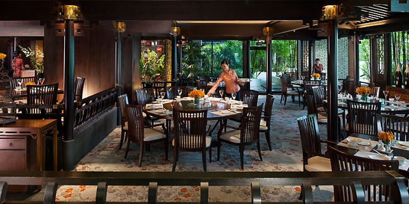 Singapore Cherry Garden - Mandarin Oriental brunch