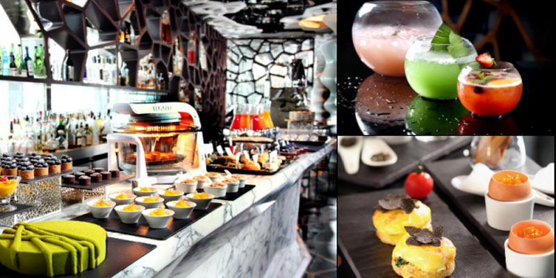 Ozone Hong Kong Food Review