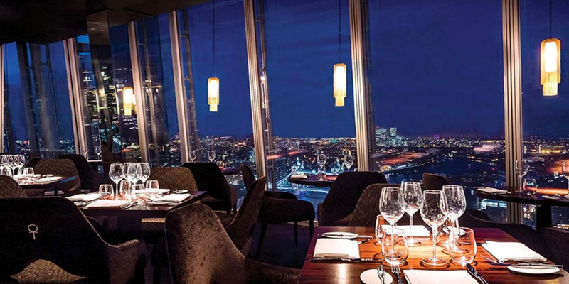 Brunch Aqua Shard (LDR Londres)