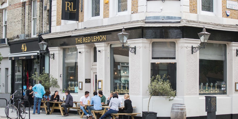 London Red Lemon brunch