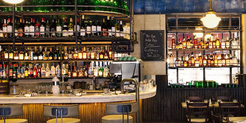 London Jackson & Rye brunch