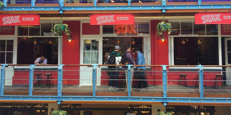 London Stax's Diner brunch