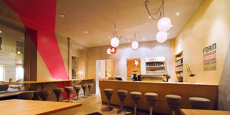 Stockholm Foam Café brunch