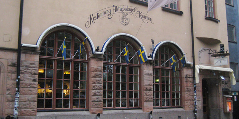 Stockholm Kvarnen brunch
