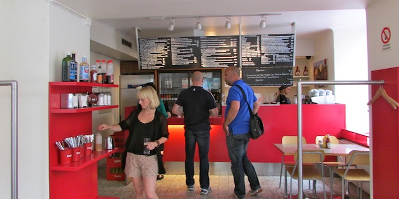 Stockholm Café Sirap brunch
