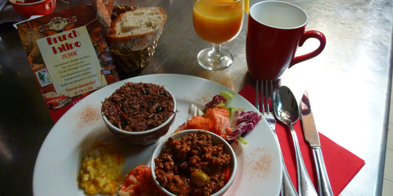 Brunch Cubana Café (75006 Paris)