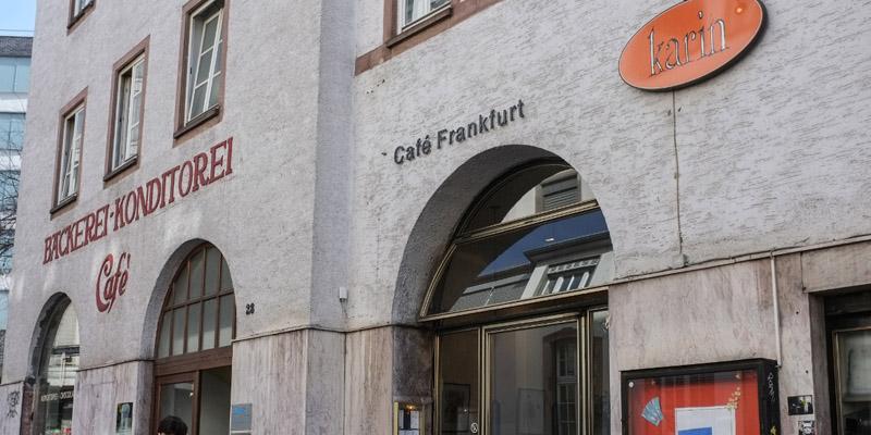 Frankfurt Café Karin brunch