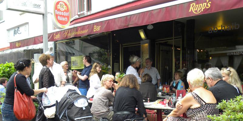 Frankfurt Café Schopenhauer brunch