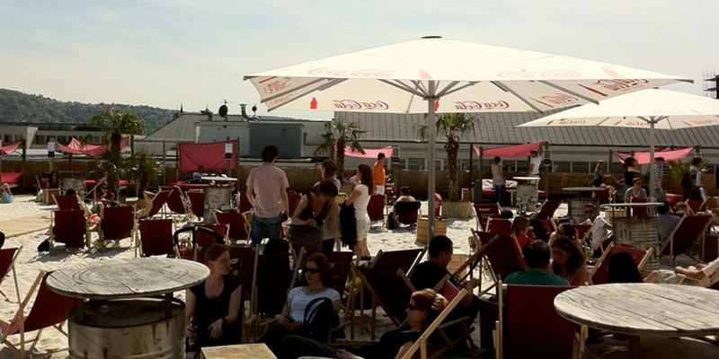 Stuttgart Skybeach brunch