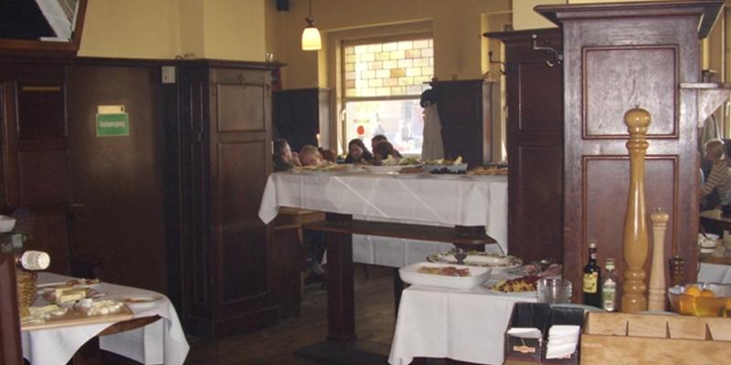 Düsseldorf Café Saffrans brunch