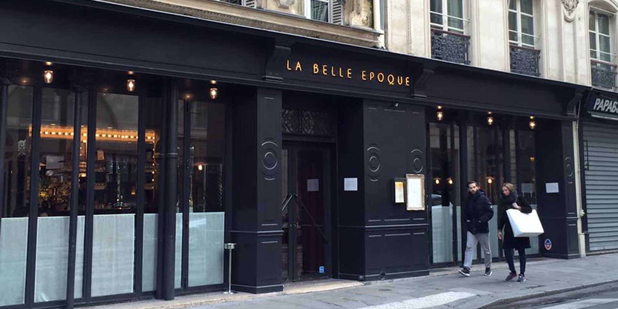 Restaurant La Belle Epoque Paris