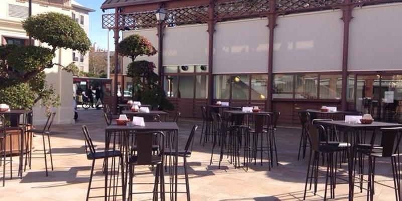 Sevilla Mercado de la Lonja del Barran brunch