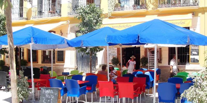 Málaga Café con Libros brunch