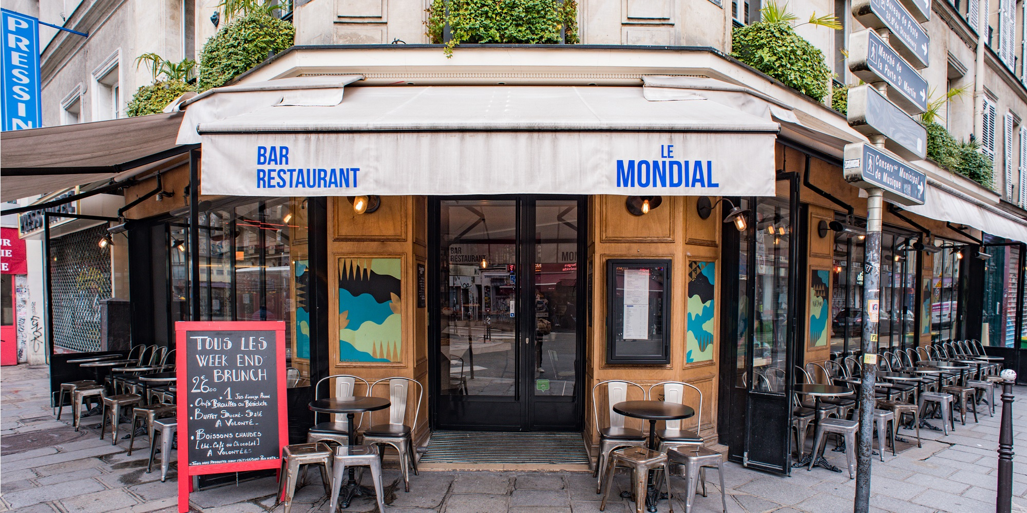 Brunch Le Mondial (75010 Paris)