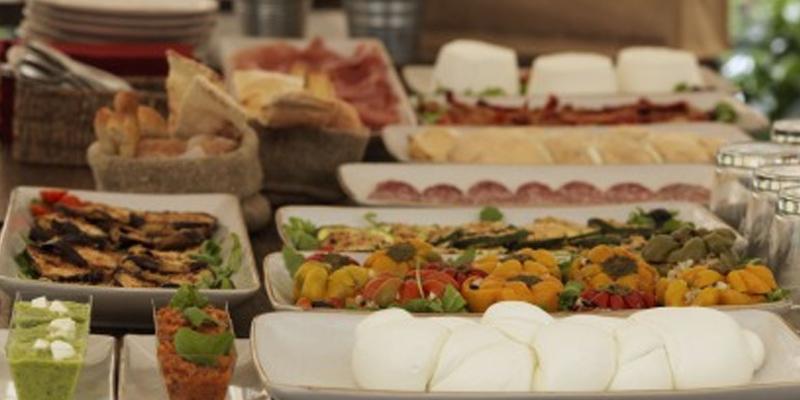 Palermo Mozzarella bar Obicà brunch