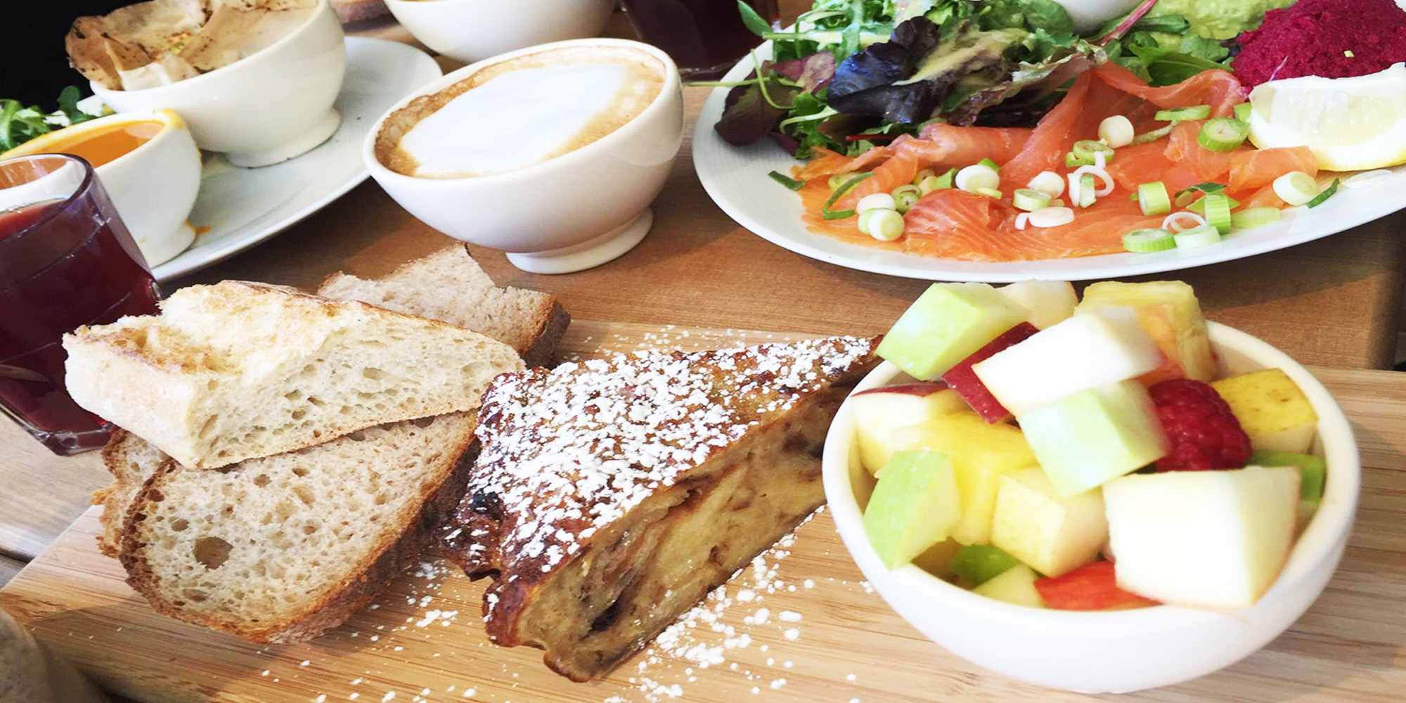 Brunch Le Pain Quotidien - St Lazare (75008 Paris)