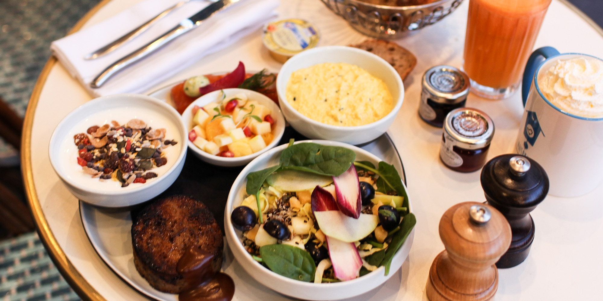 Brunch La Maison Bleue (75010 Paris)