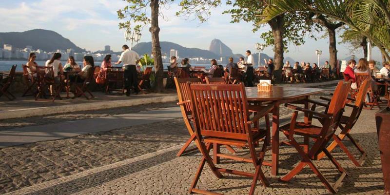 Rio de Janeiro Confeitaria Colombo brunch