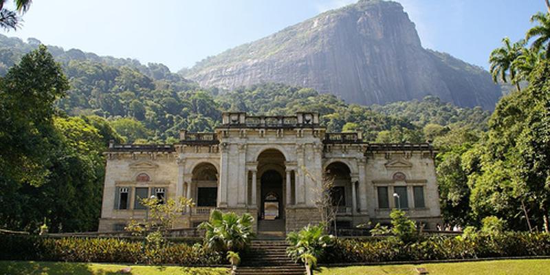 Rio de Janeiro Parque Lage brunch
