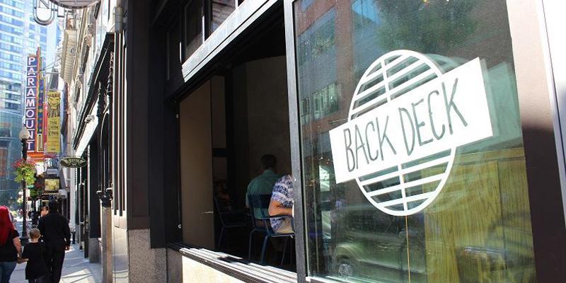 Boston Back Deck brunch