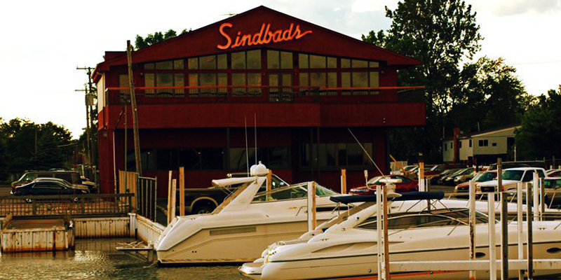 Brunch Sindbads Restaurant and Marina (MI48214 Detroit)