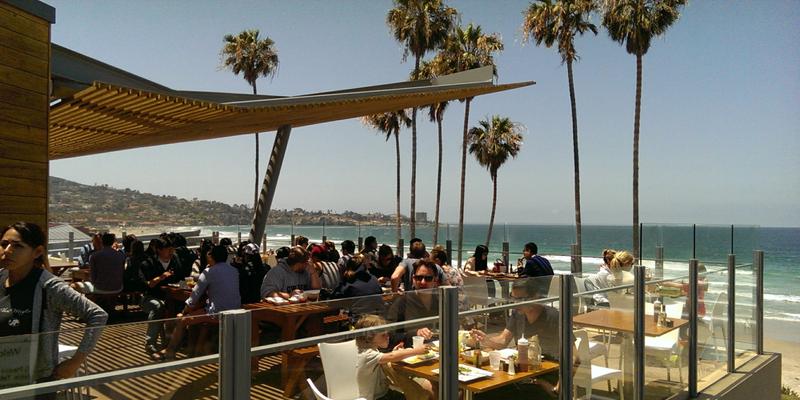 San Diego Caroline's Seaside Cafe brunch