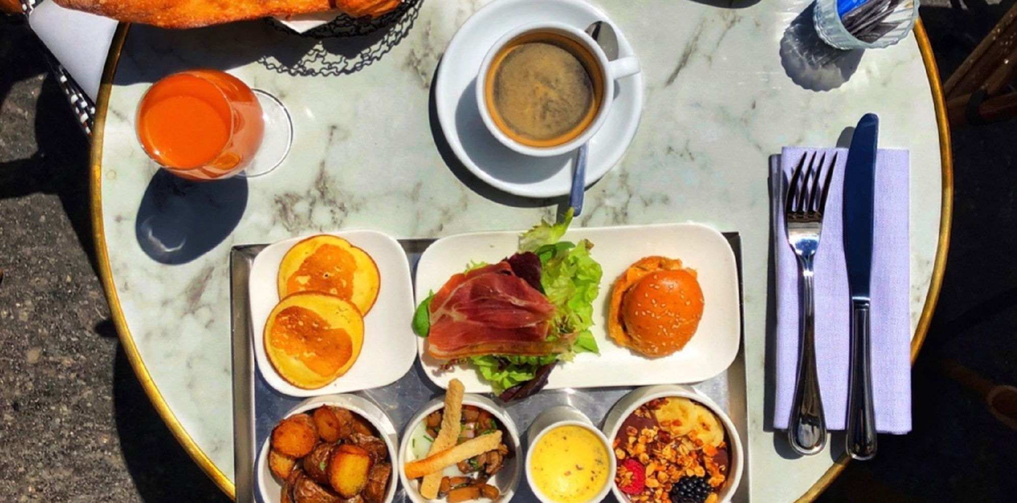Brunch Café Delmas (75005 Paris)