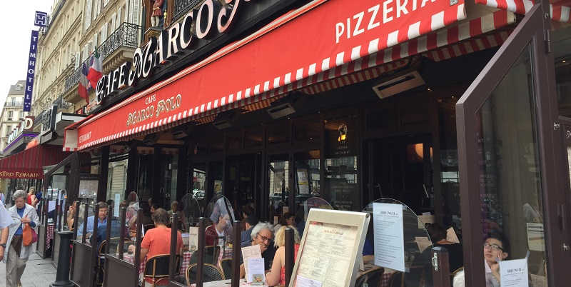 Brunch Café Marco Polo (75008 Paris)