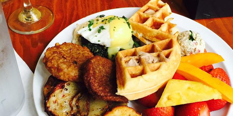 Houston Baba Yega Cafe brunch