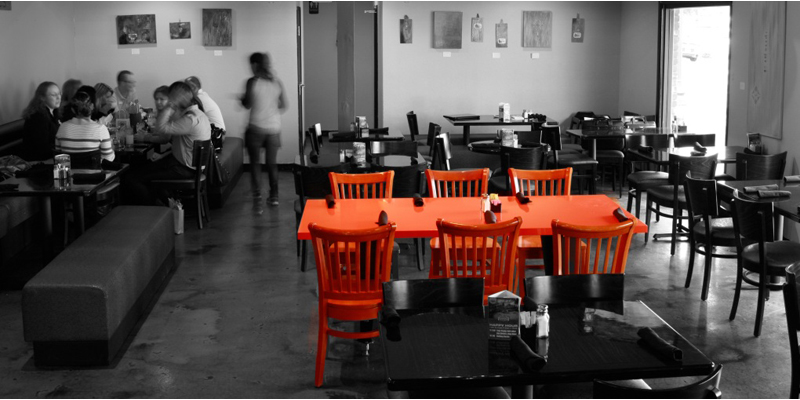 Brunch Orange Table Tempe (AZ85281 Phoenix)