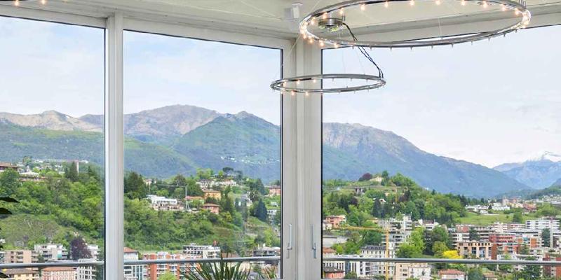 Lugano Suitenhotel Parco Paradiso brunch