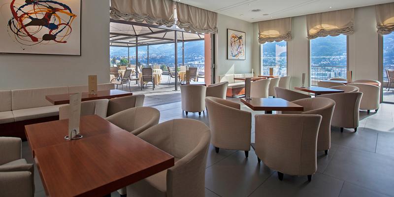 Lugano Villa Sassa Hotel brunch