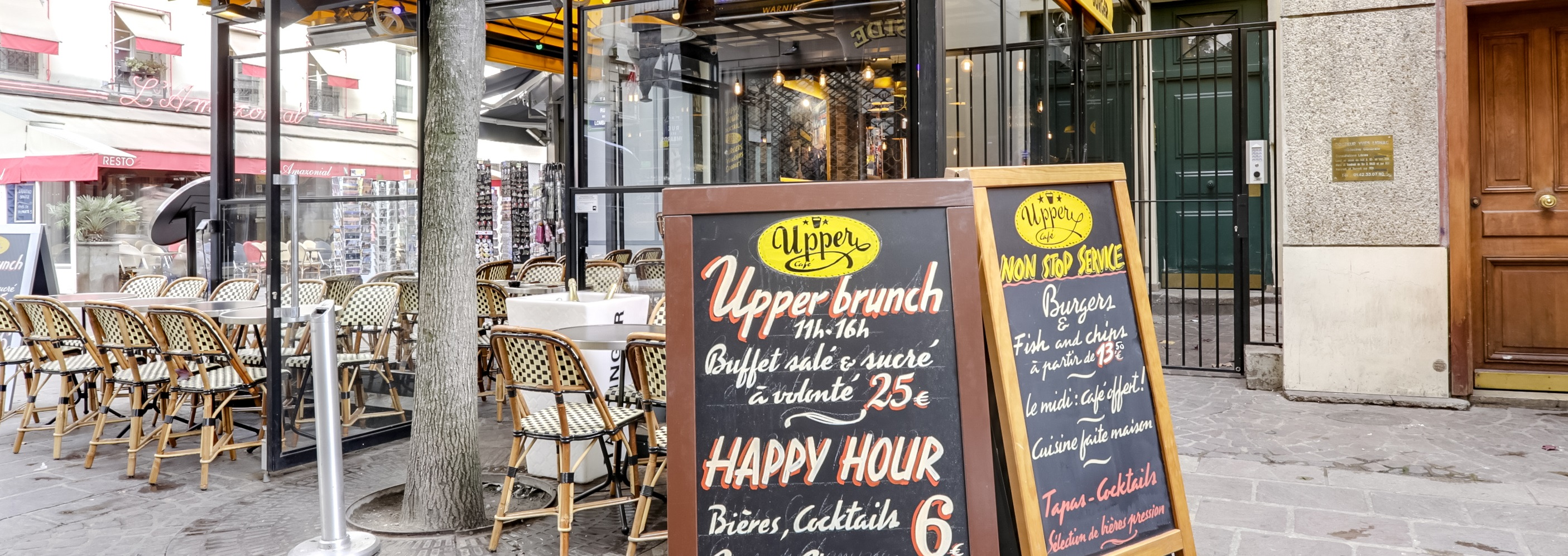 Brunch Upper Café- Les Halles (75001 Paris)