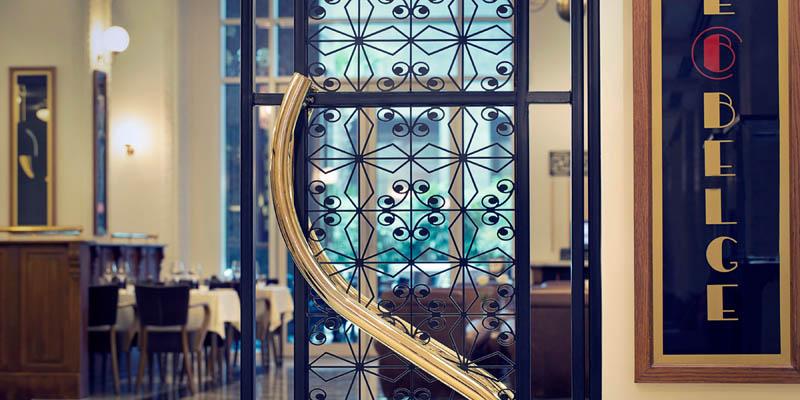 Dubai Café Belge at The Ritz-Carlton brunch