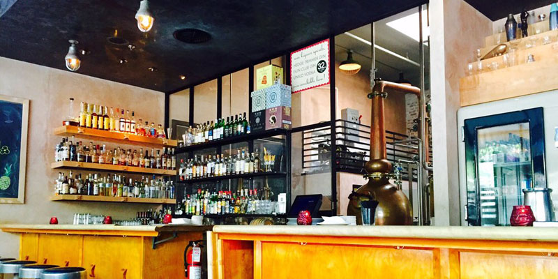 brunch Seattle Sun Liquor Distillery brunch